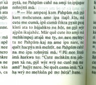 John 3:16 in Canela
