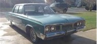 $300, 15-year-old Dodge Polara, before packing it full