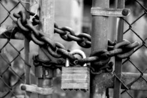 Village Gate Locked Against Missionaries
