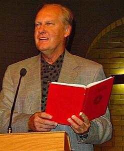 Holding Red Canela Bible