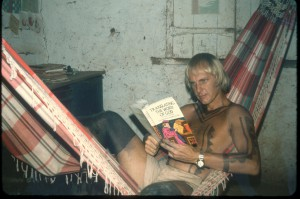 Jack Reading in Canela village mid-1970s